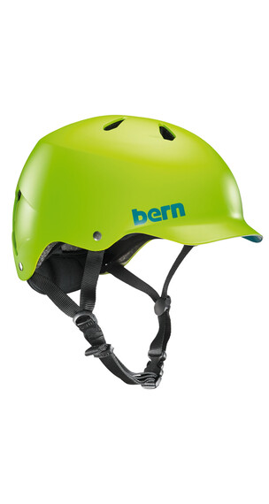 Bern Watts EPS Helm Thin Shell matt-neongrün